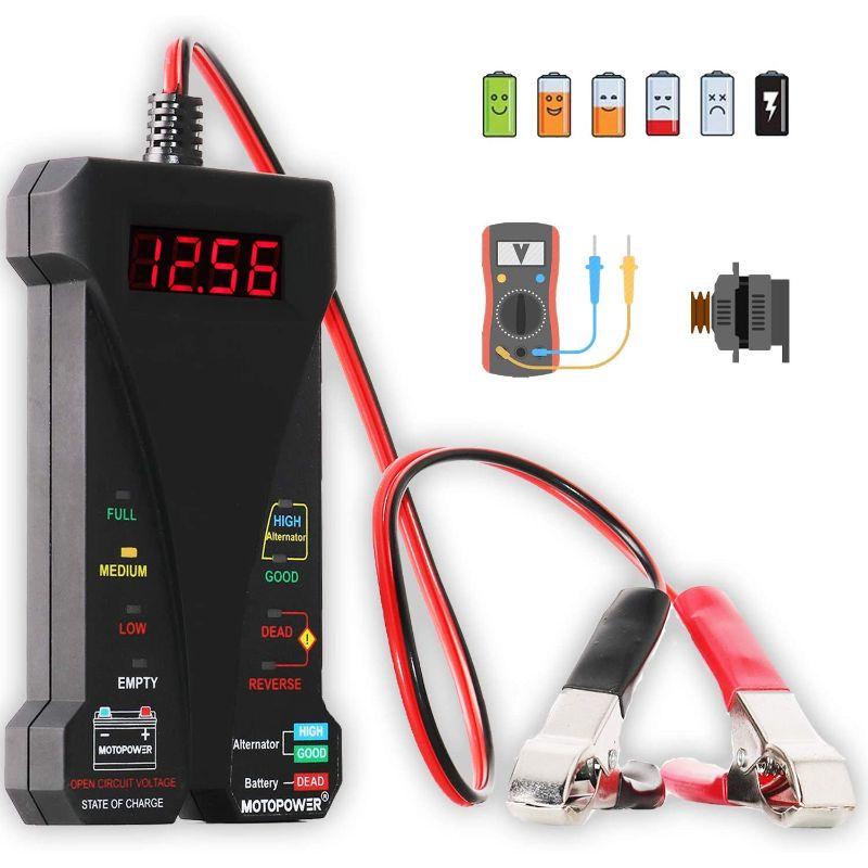 Comprobador de batería digital MOTOPOWER MP0514A