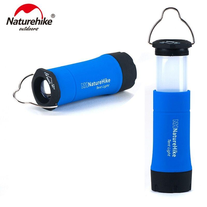 Lampara/linterna LED portatil para camping Naturehike
